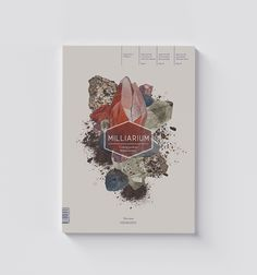 Milliarium magazine cover design on Editorial Design Served