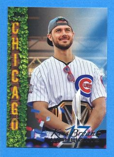 You are purchasing the card in the title above in at least NM/MT condition. The card in the scan is the actual card you will receive. Cubs Cards, Baseball Series, Babe Ruth, Chicago Cubs, Highlights, Baseball Cards, Blue, Luminizer, Highlight