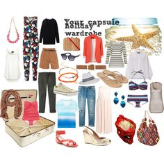 Your Capsule Holiday Wardrobe by mummylook, via Polyvore