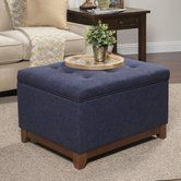 Found it at Wayfair - Nunnally Upholstered Storage Cocktail Ottoman