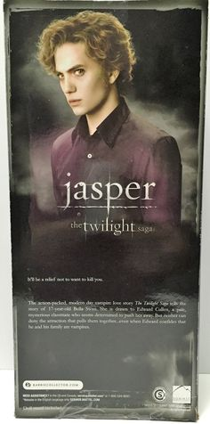 (TAS034891) - 2012 Mattel Barbie Pink Label Collection The Twilight Saga Jasper