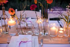 How To Make a Simple, Colorful Tablescape