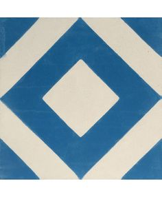 Varadero Azure Encaustic Cement Tile by Terrazzo Tiles¦ Shop Online: http://www.terrazzo-tiles.co.uk/varadero-azure-encaustic-cement-tile.html  #encaustictiles #cementtiles #hydraulictiles #Varadero #geometricpattern #beautifultiles #tiles #patterntiles #terrazzotiles @TerrazzoTiles