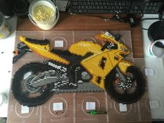 Motorcycle perler beads by mone1