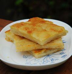 Скьячата или картофельная лепешка