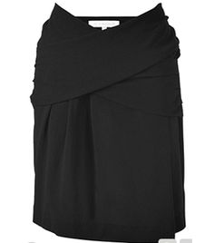 Black Draped Front Skirt by Vanessa Bruno #Matchesfashion