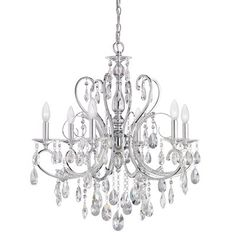 Dining Mid. Chandeliers-Candle