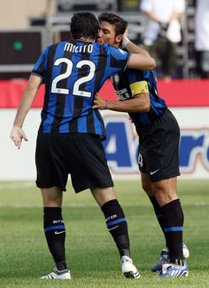 Milito and Zanetti, great role models!