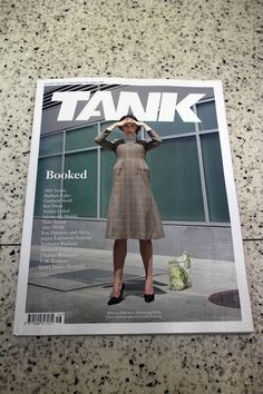"""IN """"Camden News"""" store to see""""tank"""" magazine"""