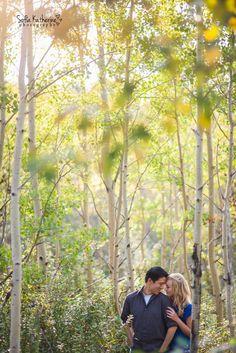 www.facebook.com/sofiakatherinephotography #engagementphotos #engaged #photography #forest