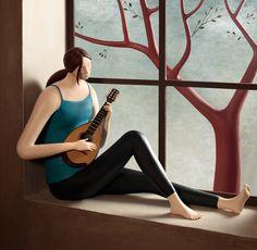 Irma Gruenholz: Una artista que crea ilustraciones con plastilina