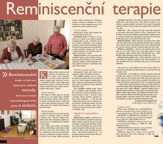 Domov Slunovrat - Reminiscenční terapie v Domově Slunovrat