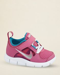 Nike Toddler Girls' Free Run 3 Sneakers - Sizes 5-7 Infant; 8