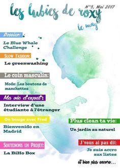 Webzine Les Lubies de Roxy, le Mag - mois de Mai