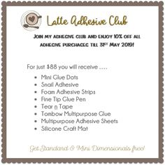 Latte Sticky Club