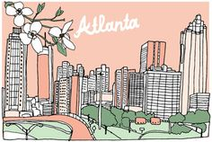 Yes, I love the Atlanta art...but this article is all the cute/awesome/vintage/chic home stores in the ATL. Score.