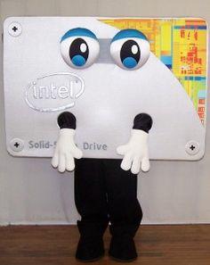 Intel mascot