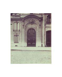 Eugène Atget, Hôtel Marbeuf - habite par Joseph Bonaparte - Fbg.  Saint-Honoré 31 - (8e arr)