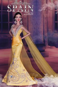 Miss Diva Doll 2018 Best in Evening Gown Competition August 5 - Please Stay tuned ! Diy Barbie Clothes, Barbie Clothes Patterns, Doll Clothes, Fashion Royalty Dolls, Fashion Dolls, Fashion Dresses, Beautiful Barbie Dolls, Vintage Barbie Dolls, Barbie Miss