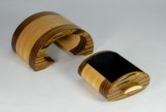 Bandsaw Box [This one's nice in that there is no run-in seam in the box. Properly sized the exterior of the box might just be a bracelet. The drawer could hold a necklace and earrings]