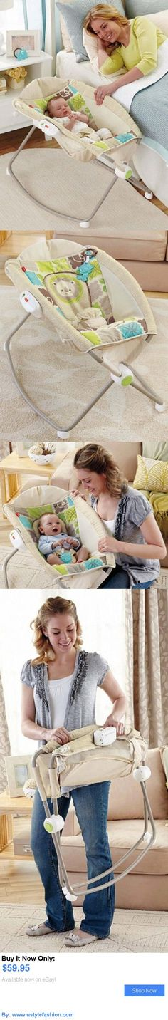 Bassinets And Cradles: Baby Bedside Rocking Sleeper Soothing Vibrations Bassinet Bed Inclined BUY IT NOW ONLY: $59.95 #ustylefashionBassinetsAndCradles OR #ustylefashion