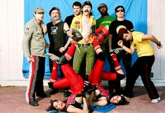 Gogol Bordello, one of the most whacked out and brilliant bands I've ever seen live.