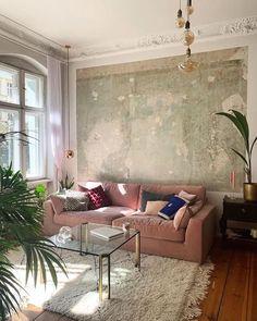 at. - Home Decor Living Room Goals, Living Room Decor, Living Rooms, Living Room Inspiration, Interior Design Inspiration, Wholesale Home Decor, Home Decor Shops, Decorating On A Budget, Home Decor Furniture