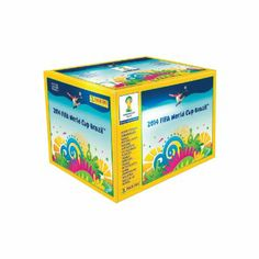 Panini 800606 – Fifa World Cup Brasil Sammelsticker im Display, 100 Tüten a 5 Sticker World Cup 2014, Fifa World Cup, Soccer Cards, Association Football, Toys, Toy Chest, Brazil, Decorative Boxes, Packing