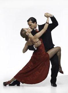 Tango. Someday, I WILL take a ballroom dance class.