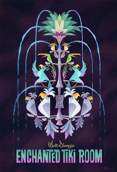 """Tiki Room"" by Bill Robinson"