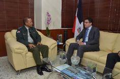 David Collado se reúne con director la Autoridad Metropolitana del Transporte…