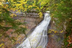 Autumn at Chapel Falls, Pictured Rocks National Lakeshore.