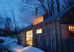 Sugar house at Poorfarm, Washington, VT