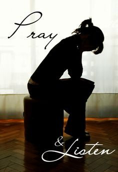 pray to Him, He Listens! Remember to listen to Him, the tuggings on your heart, and to His word.. <3