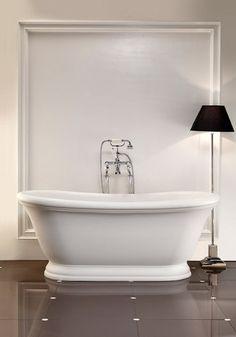 Featured Vendor - Devon & Devon - traditional - bathtubs - san diego - by Lav Bathroom Quotes, Bathroom Wall Art, Master Bathroom, Bathroom Ideas, Bathrooms Decor, Washroom, Vinyl Wall Art, Wall Decals, Vinyl Decor