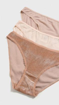 e835f0b9c8126e Baserange Bell Nude Pack in Nude 1, 2, 3 | The Dreslyn Bikini Underwear