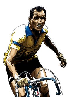 "Gino ""Le juste"".   Collection Légendes du Cyclisme by GregLegende"