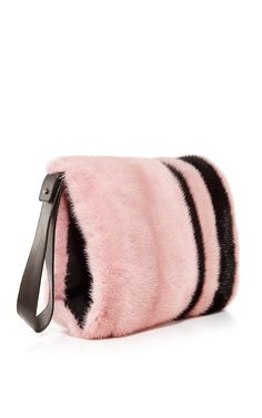 Bi-Color Mink Muff - J. Mendel Resort 2016 - Preorder now on Moda Operandi