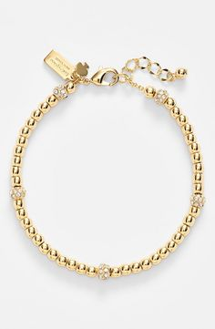 50ae3ee33a7f kate spade new york  how charming  beaded bracelet New York S