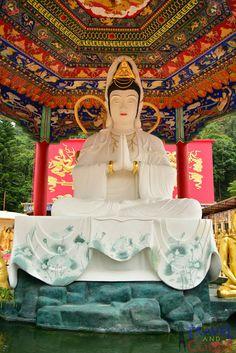 Sha Tin, Hong Kong - Thousand Buddha Monastery #travel, #ttot, #backpacker, #travelandcount