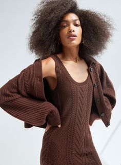 EMPORIA CARDIGAN - Merino wool cardigan Cute Fashion, Fashion Outfits, Stylish Winter Outfits, Easy Shape, Women's Puffer, Cardigan Fashion, Wool Cardigan, Fall Wardrobe, Sweater Shop