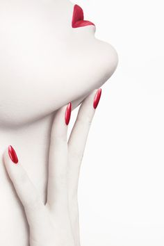 Revlon  ColorStay Nail Enamel Campaign - Sølve Sundsbø by Digital Light Ltd , via Behance