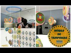 DIY com Nestlé: Móbile Criativo e Fofo de Tampinhas | Organize sem Fresc...