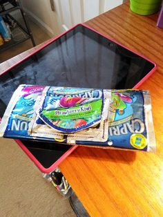 My old Capri Sun Wallet I made!