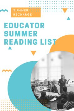 Take a cue from your summer assignments to students and create your own summer reading list—for professional learning! - Explore new strategies for engaging your students. - Deepen your understanding of differentiated instruction. - Sharpen your assessment and grading practices. - Boldly lead your team to success in the new year. I Love Books, Books To Read, My Books, Curriculum, Homeschool, Summer Reading Lists, Differentiated Instruction, Educational Leadership, Writing Skills