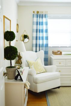 This nursing nook is