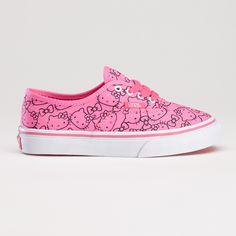 Vans Kids Sneakers - Hello Kitty Authentic Pink