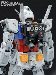 Ghost is back with his fresh work on the old kit PG First Gundam by Ghost recently appeared on modelers-g. A high detailed wor.