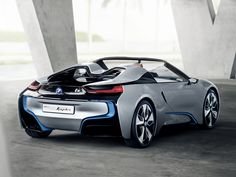 8 Best Bmw I8 Concept Spyder Images Bmw I8 Bmw Cars Cars