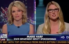 Spin, spin, spin........ VIDEO: Megyn Kelly Takes Obama Spokeswoman Marie Harf to the Woodshed.